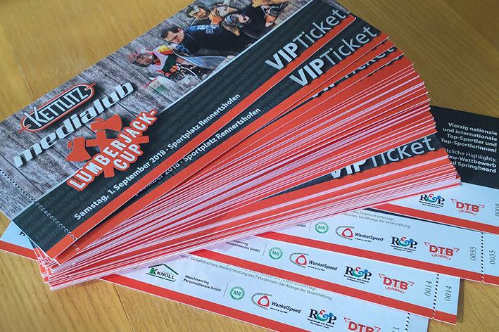 Kettlitz Lumberjack-Cup VIP Ticket