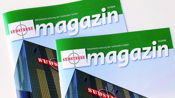 Das neue Südstärke Mitarbeiter Magazin.