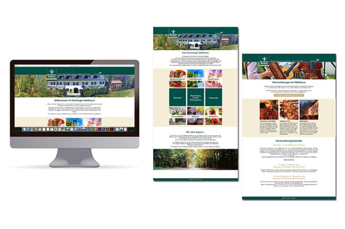Neue Homepage für das Köschinger Waldhaus.