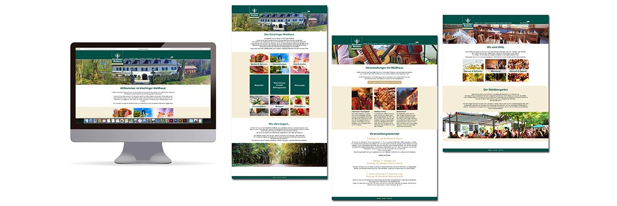 Neue Homepage für das Köschinger Waldhaus